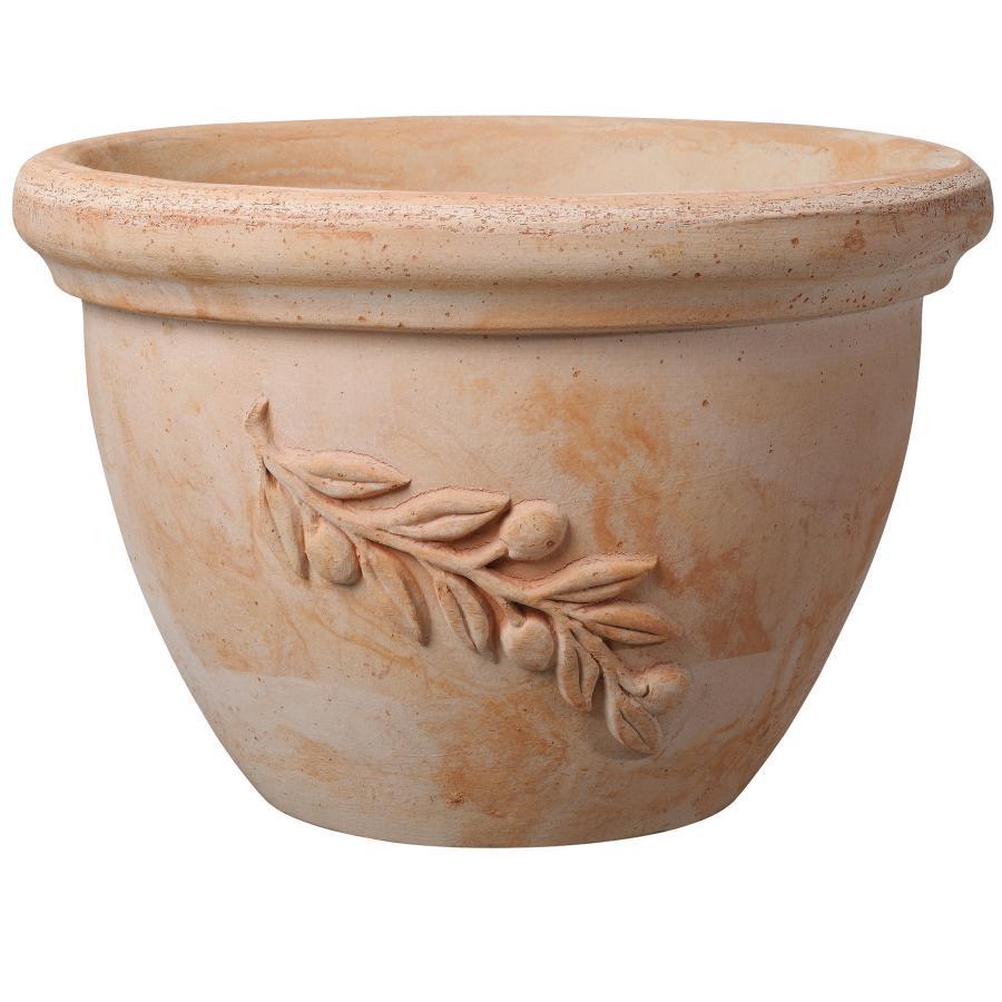 керамична саксия-купа OLIVE