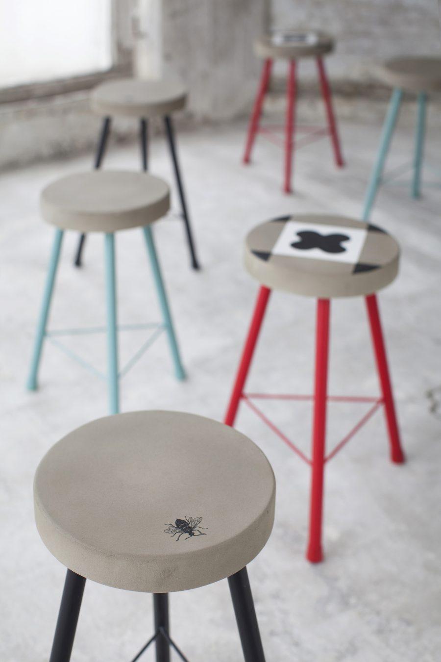 Колекция мебели - малки маси и столчета FEELING от navun.bg