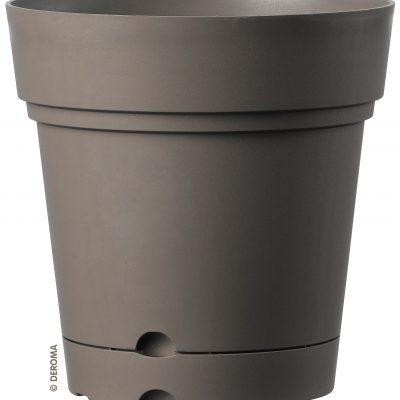 Висококачествени студоустойчиви и UV устойчиви сaксии с воден резервоар и вградени колела в три цвята Samba