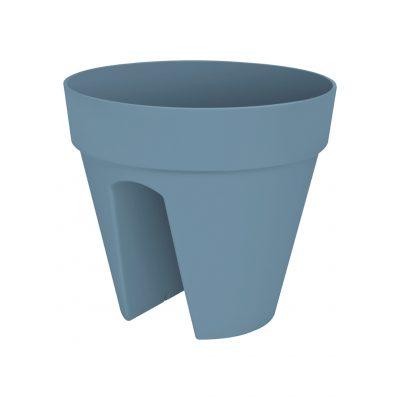 Студоустойчиви и UV устойчиви пластмасови саксии за парапет с поливна система и преливник в 5 цвята loft urban