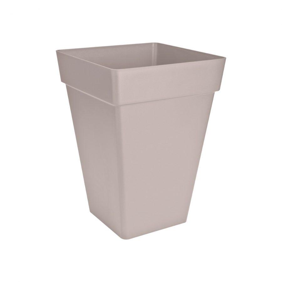 Висококачествена пластмасова квадратна саксия LOFT URBAN