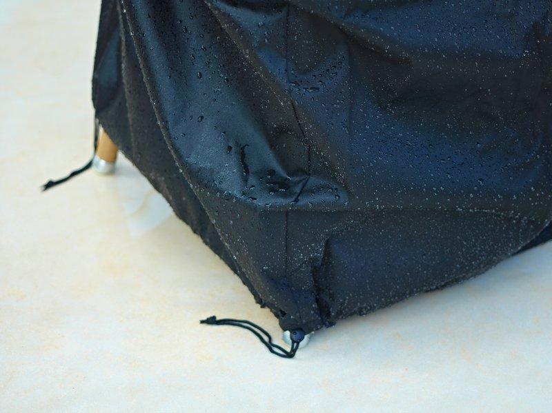 Предпазно кръгло покривало за градински мебели от navun.bg