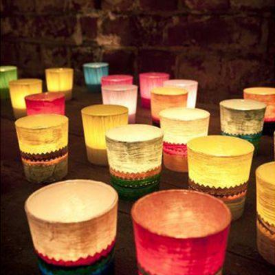 Красиви свещници за чаени свещи ZIGZAG от navun.bg