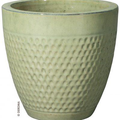 Глазирани саксии от италианска глина AQUAMARINA от navun.bg