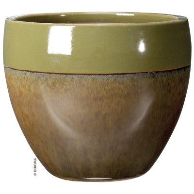 Керамична саксия от глазирана теракота Vaso Mystery