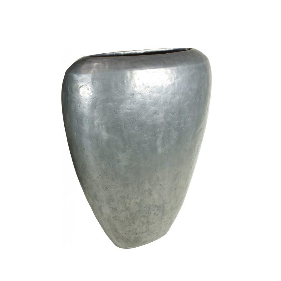 Стилна висока саксия от колекция LOFT от navun.bg