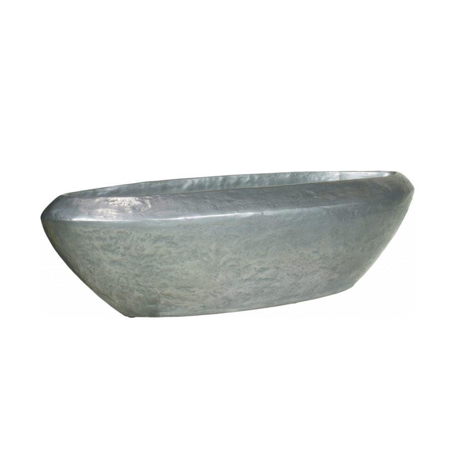 Дизайнерска саксия loft table top silver