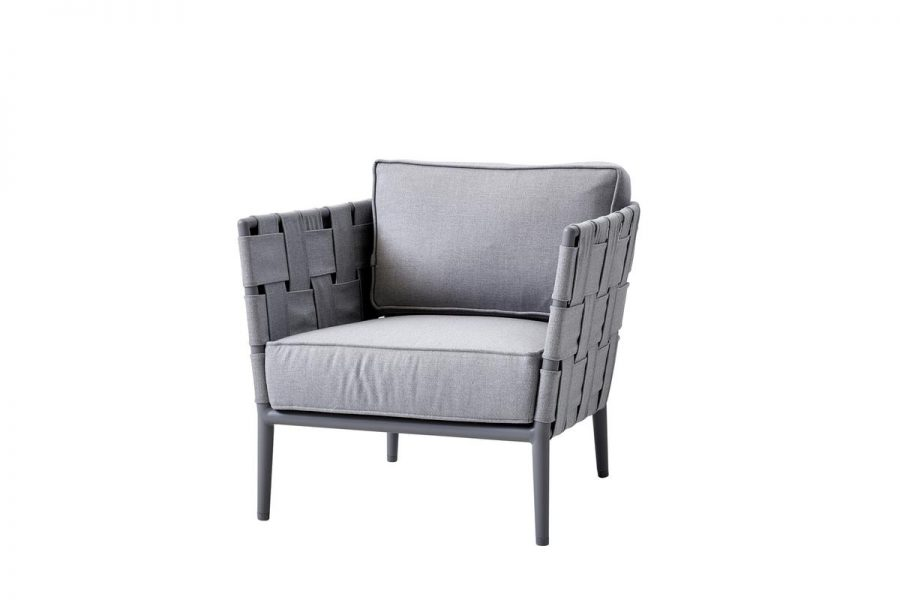 Градинскo кресло Conic, светло сиво