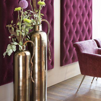 дизайнерска ваза за цветя Glaze