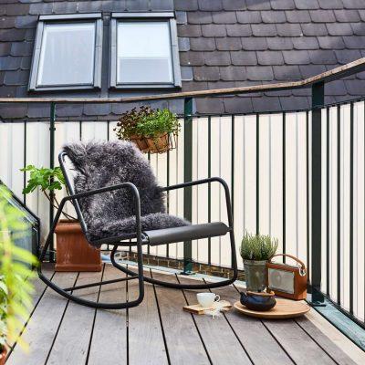 Модерен люлеещ стол COPENHAGEN от navun.bg