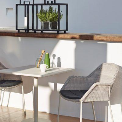 Класически градински стол от колекция BREEZE от navun.bg