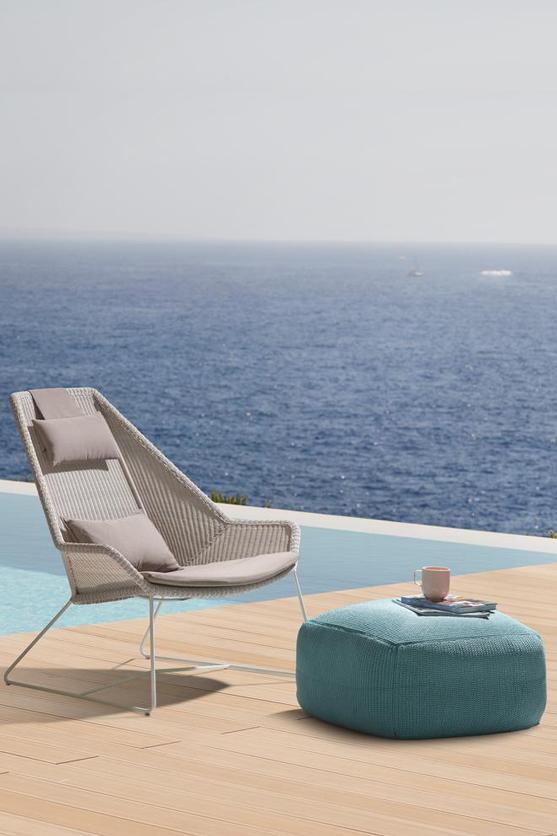 Плетен градински стол от колекция BREEZE от navun.bg