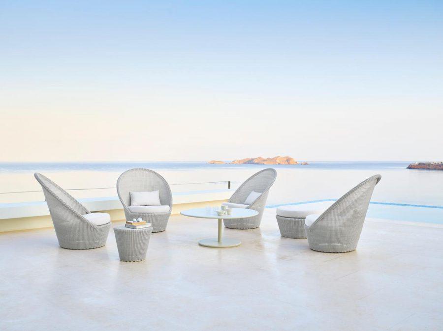 Комфортно градинско кресло от колекция KINGSTON от navun.bg