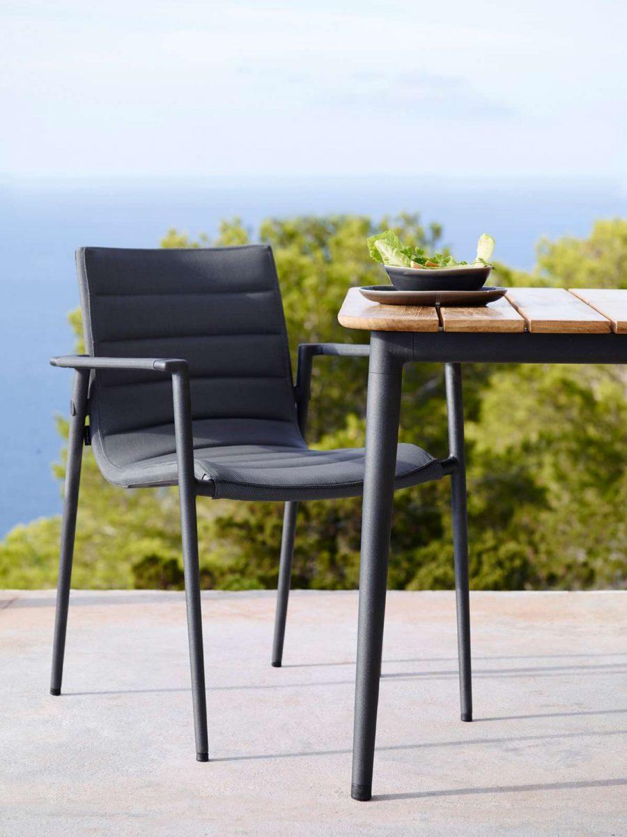 Комфортен градински стол CORE от navun.bg