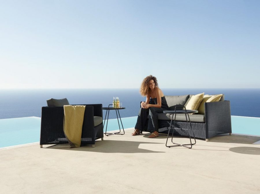 Плетено градинско кресло от колекция мебели DIAMOND от navun.bg