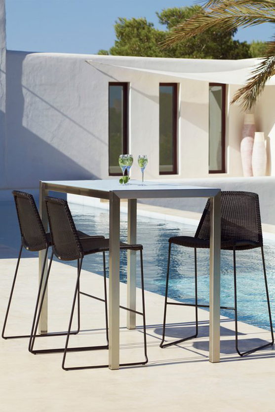 Бар стол BREEZE за балкон и градина от navun.bg