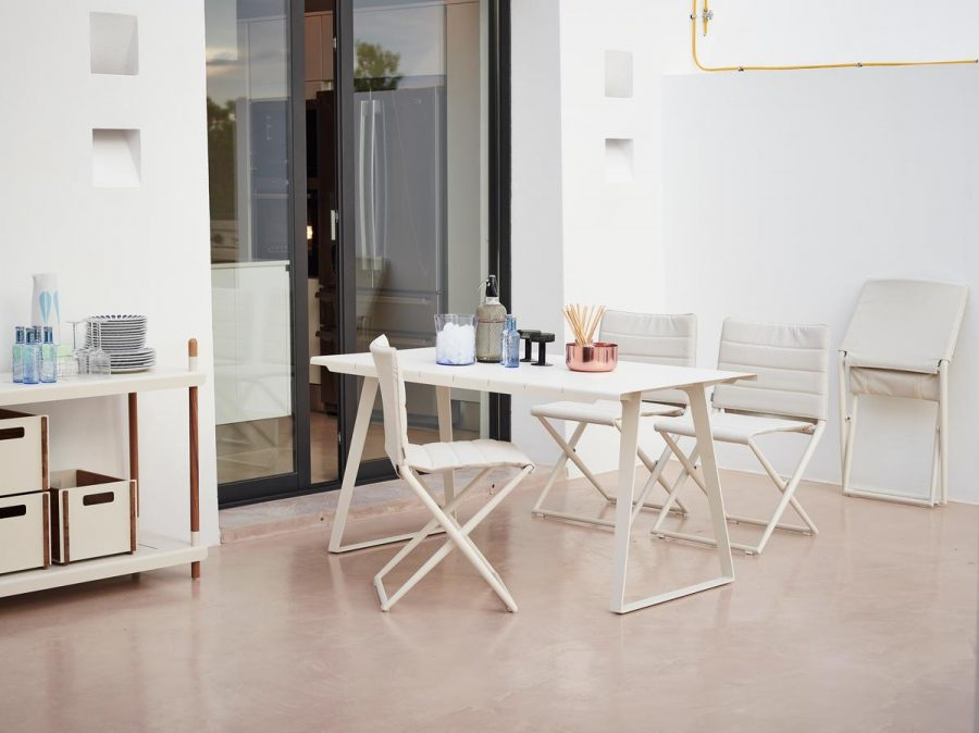Градински малък сгъваем стол TRAVELLER TEX от navun.bg