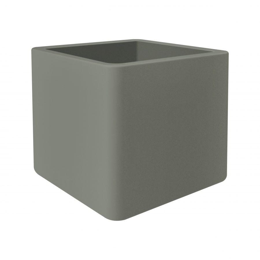Висококачествена пластмасова квадратна саксия Pure soft brick