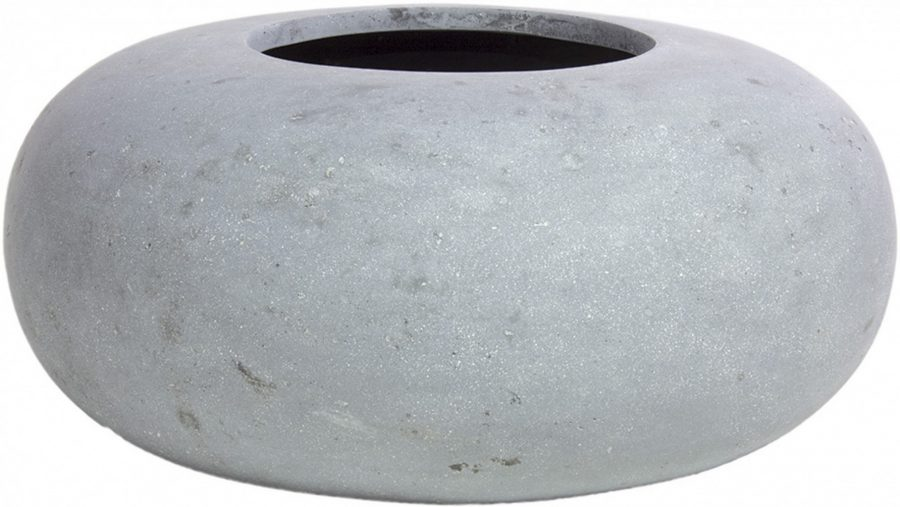 Дизайнерска кръгла саксия DONUT от navun.bg