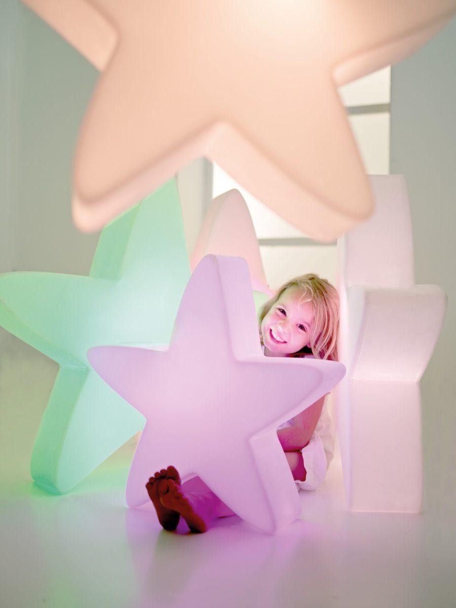 Коледна украса | Светеща звезда от navun.bg