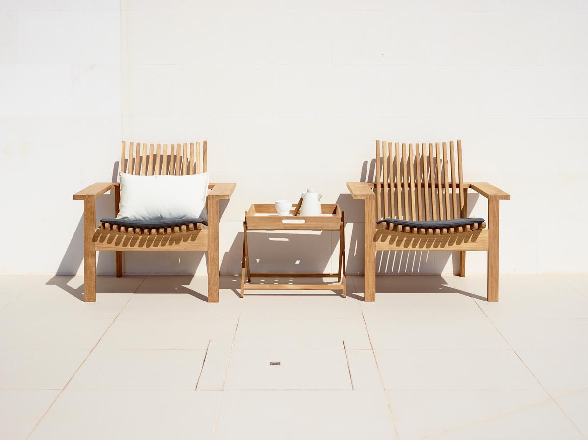 Градинско кресло от тиково дърво AMAZE от navun.bg