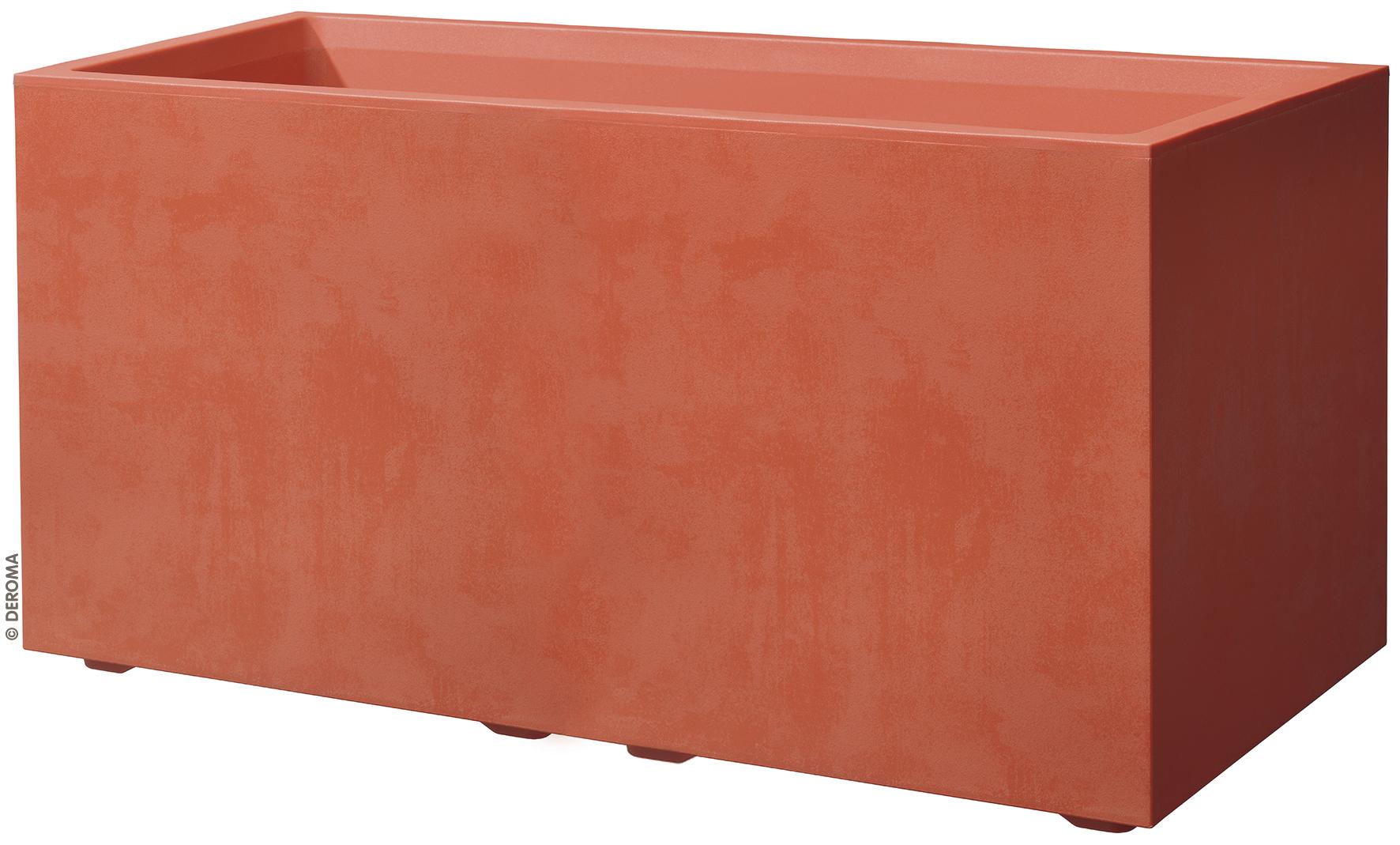 Керамично сандъче FACTORY се предлага в 2 цвята- корал и асфалт. Сандъчетата в цвят корал са атрактивни и се комбиниратмного приятно с цвят асфалт, който е мек и успокояващ. Комбинацията от двата цвята имабалансиран и стилен ефект.