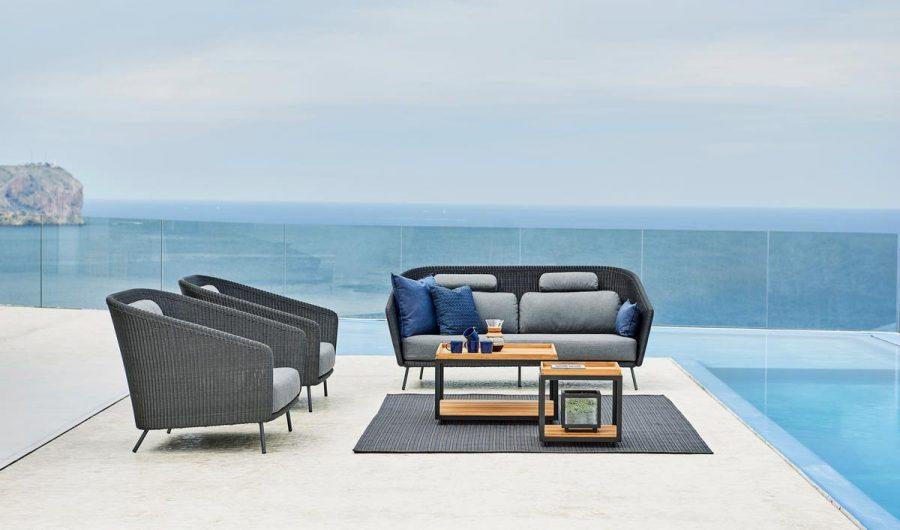 Мебели за градина от колекция MEGA, кресло от navun.bg