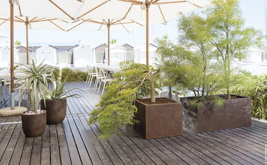 Кръгли саксии за балкон или градина от navun.bg