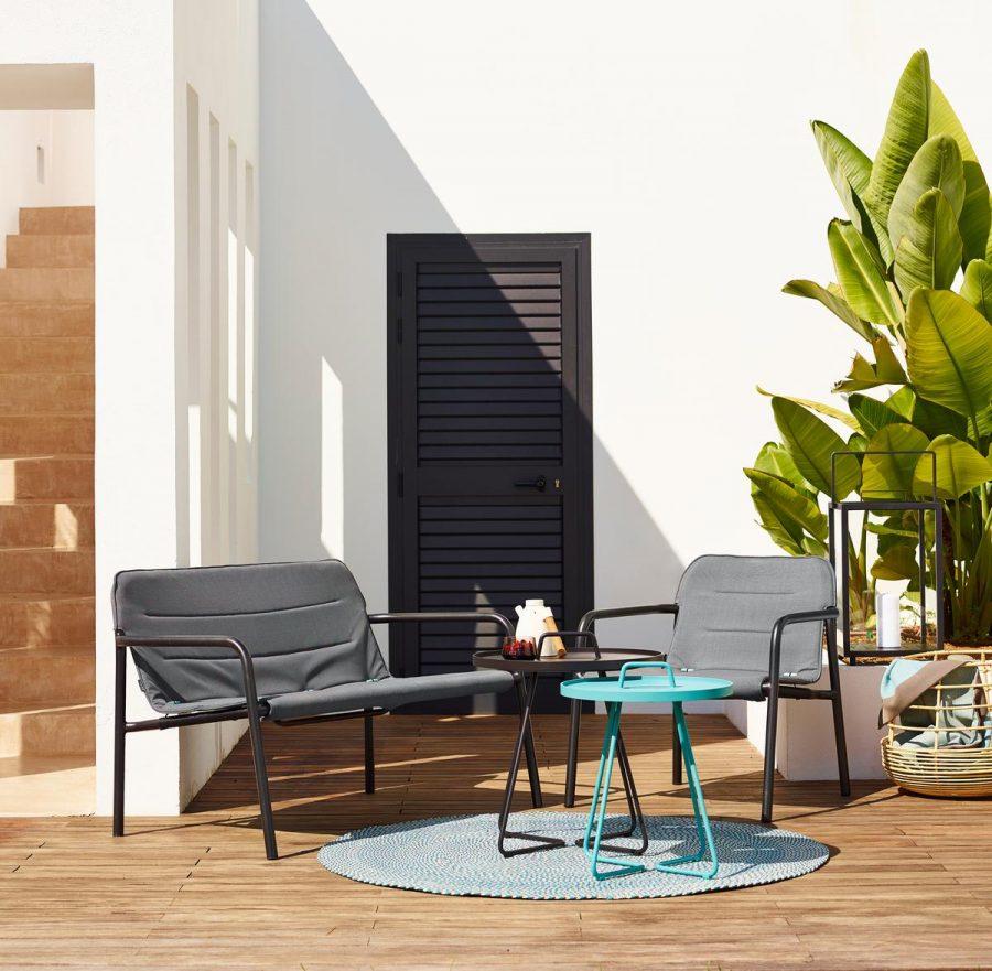 Колекция градински диван и стол KAPA от Навън
