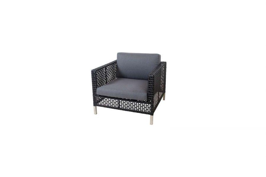 Градинско кресло Connect, черно