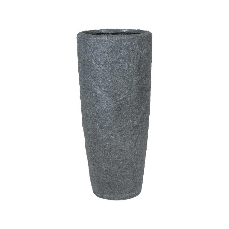 Дизайнерска саксия rocky grey