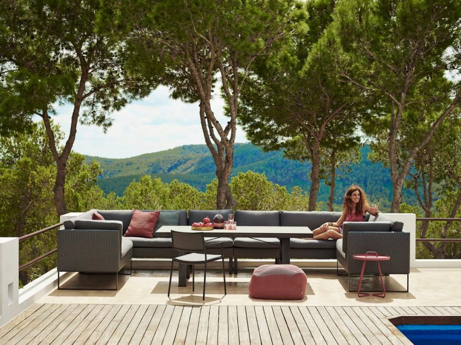 Градински диван, единичен модул от колекция FLEX от navun.bg