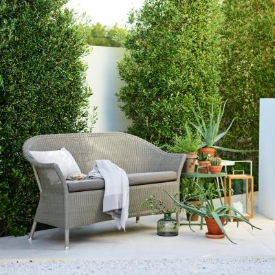 Дизайнерски градински диван Lansing