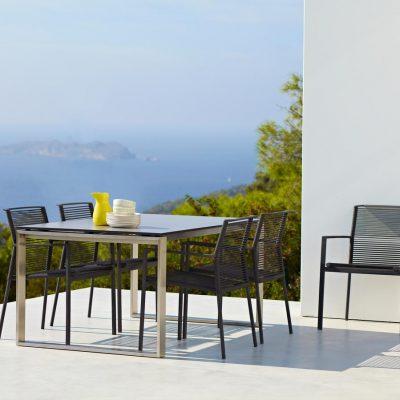 Градински мебели, маса и столове Edgе