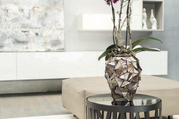 Саксия за орхидеи Shell от navun.bg