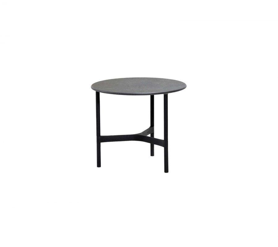 Градинска маса Twist от алуминий, lava grey