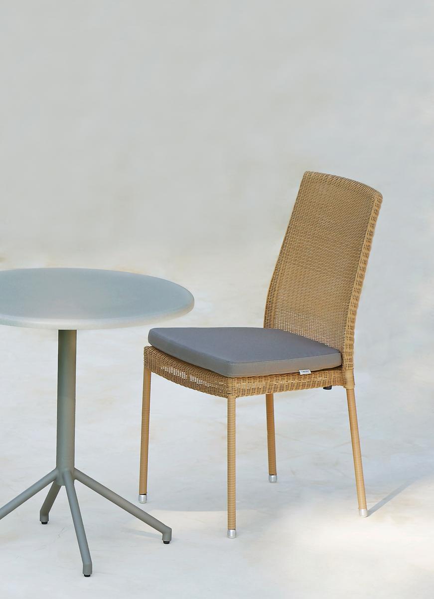 Градински стол newman- Gradinski mebeli ot navun.bg taupe (2)