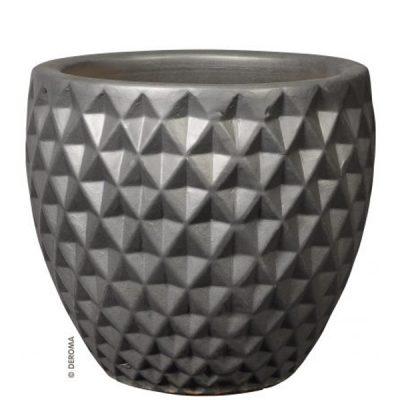 Глазирана керамична саксия Shadow