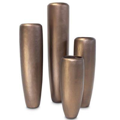 Дизайнерска саксия loft bronze big