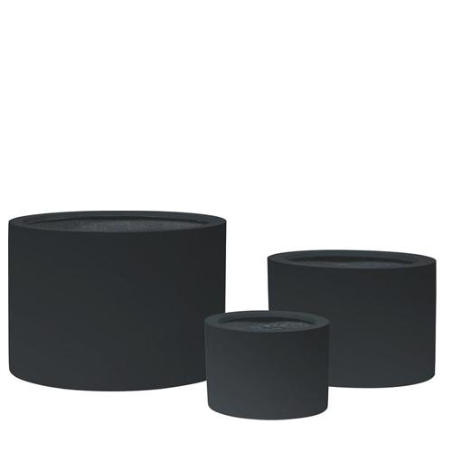 Саксия Shape, черна