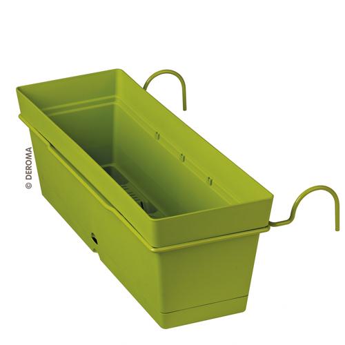 Сандъче за парапет с държач Samba, зелено