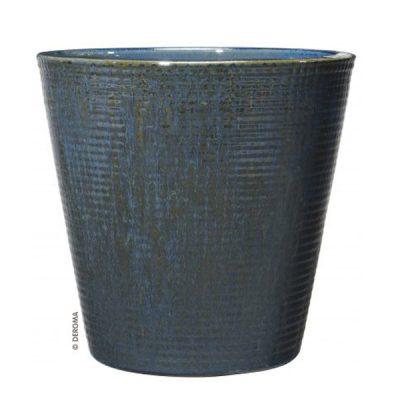 Глазирана керамична саксия Aquamarina
