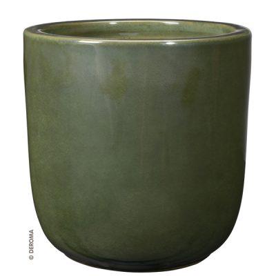 Глазирана керамична саксия Vertige