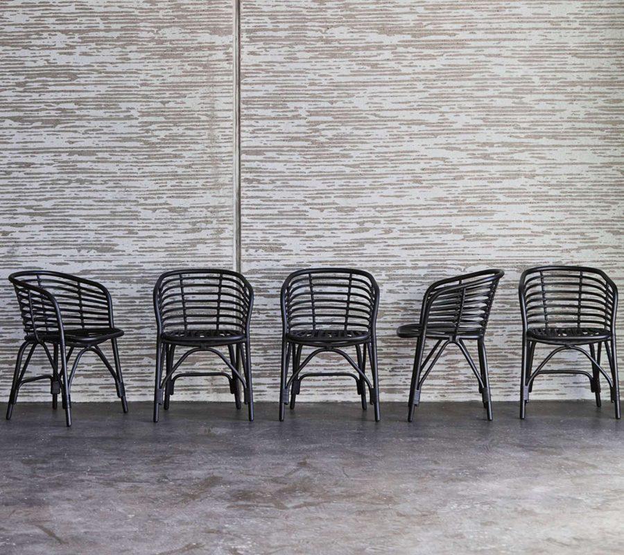 Градински стол Blend от алуминий