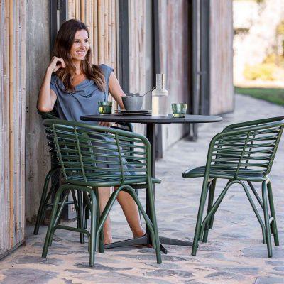Дизайнерски градински столове Blend от navun.bg