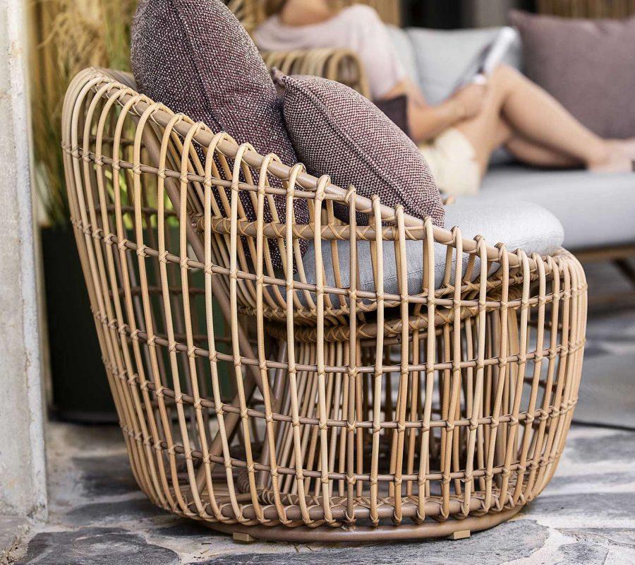 Дизайнерско градинско кресло Nest от navun.bg