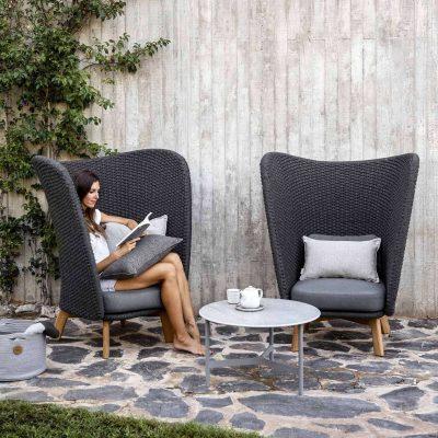 Градинско кресло PEACKOCK, скандинавски дизайн от navun.bg
