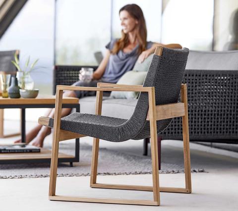 Градински стол от тиково дърво ENDLESS от navun.bg