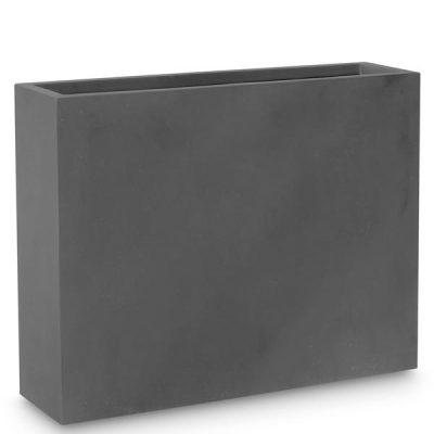 Дизайнерска колекция саксии LEVEL, черна