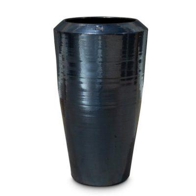 Дизайнерска колекция саксии Padu, черна